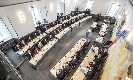 36 Abgeordnete sitzen im Kärntner Landtag