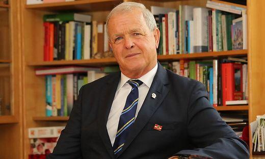 Der neue Vorsitzende der Lions Österreich: Johann Wieser