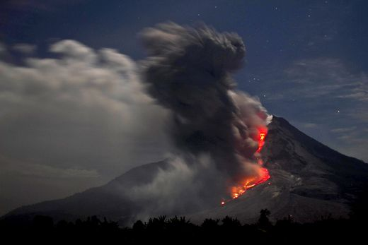 INDONESIA NATURE VOLCANO ERUPTION