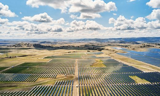 Apples neue Flats Solar Farm in Kalifornien