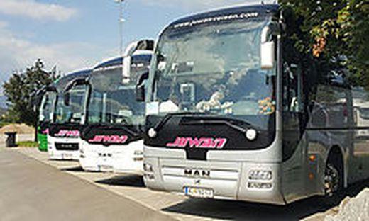 Per Bus ins Stadion