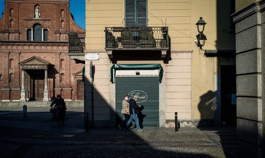 Codogno aftermath reportage. Two months after the first infection. (Stefano De Grandis / Fotogramma, Codogno - 2020-04-1