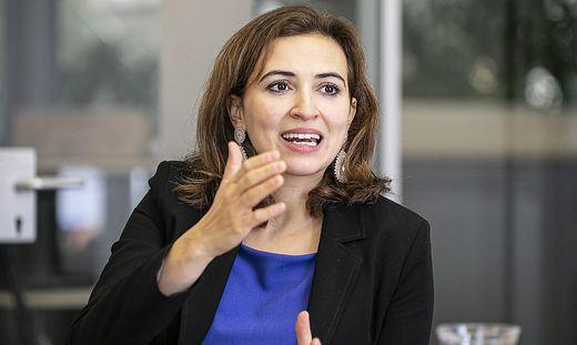 """""""Gericht und Staatsanwalt bleiben in der Stadt Klagenfurt"""", sagt Alma Zadic."""