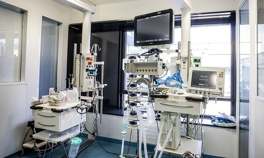Covid-19 Corona Klinikum Klagenfurt Beatmungsgeraete