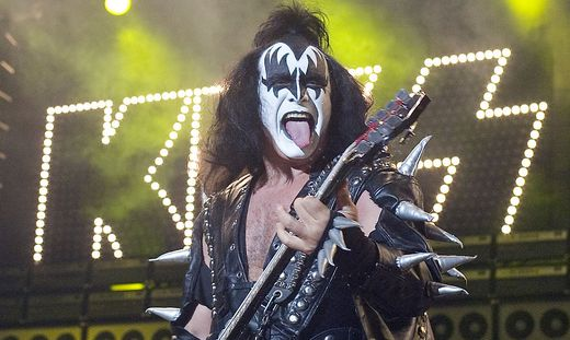 Kiss-Bassist Gene Simmons