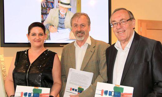 Susanne Hübler, Ernst Lasnik und Ernst Meixner