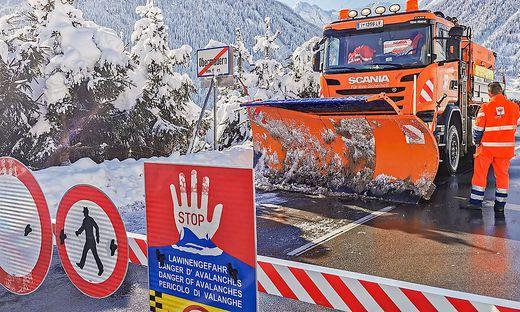 14.11.2019 - Schneemassen in Osttirol - Virgen