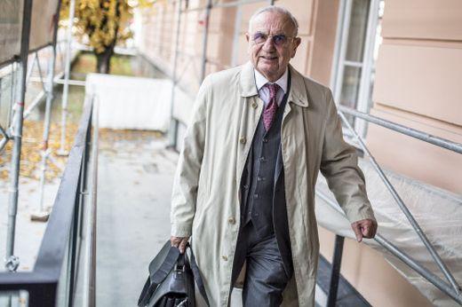 Anwalt Dieter Böhmdorfer vertritt die FPÖ