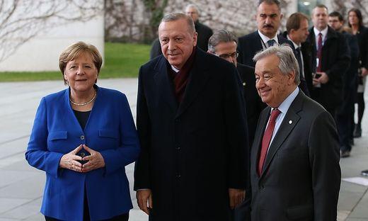 GERMANY-TURKEY-LIBYA-CONFLICT-SUMMIT
