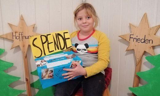 Finja Schantl ist neun Jahre alt und besucht die Volksschule Vasoldsberg