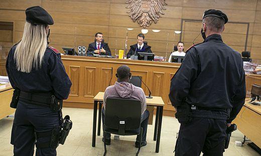 Prozess Serienvergewaltiger Landesgericht Klagenfurt Oktober 2020