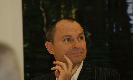 Der Schriftsteller Norbert Gstrein