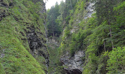Die Liechtensteinklamm