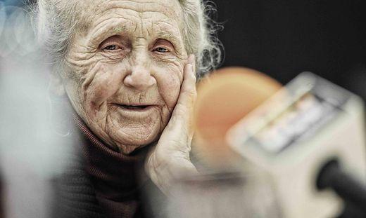 Maria Sosnovska begibt sich in ihren Gedanken 75 Jahre zurück