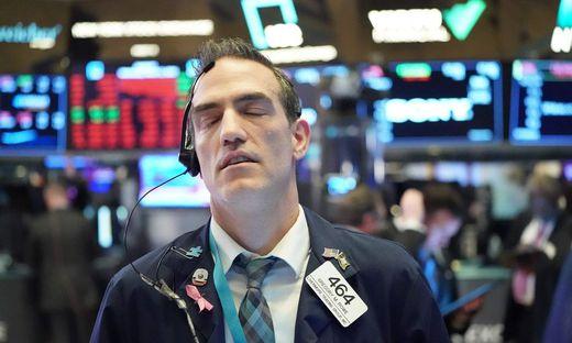 Weltweit sinken zurzeit die Börsenkurse