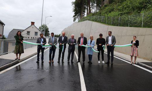 Feierliche Wiedereröffnung der Judenburger Stadtzufahrt über den Landtorberg