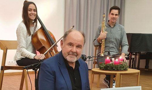 Treten im Stieglerhaus in St. Stefan ob Stainz auf: Julia Hofer, August Schmölzer und Edgar Unterkirchner