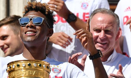 David Alaba, Karl-Heinz Rummenigge