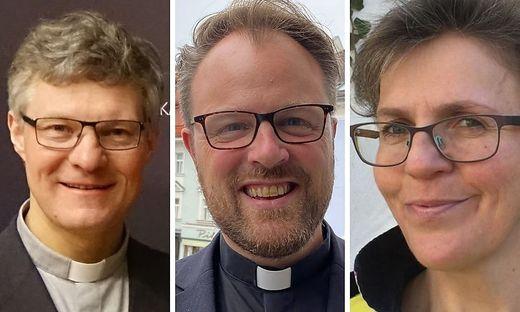 David Schwingenschuh, Clemens Grill und Birgit Dekorsi