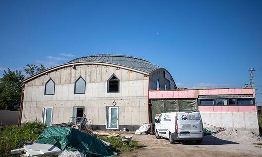 Das muslimische Gebetshaus befindet sich in der Nähe des Klagenfurter Hauptbahnhofes