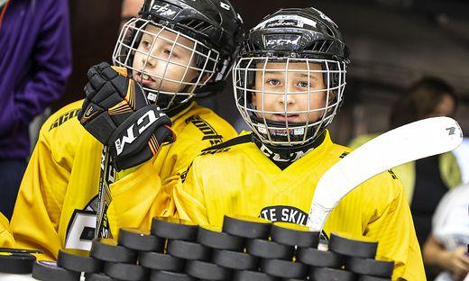 Eishockey Jugendcamp Michael Grabner Villach Juli 2019
