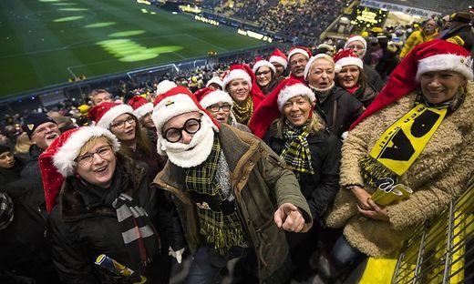 Bei Borussia Dortmund ist das Weihnachtssingen bereits geliebte Tradition