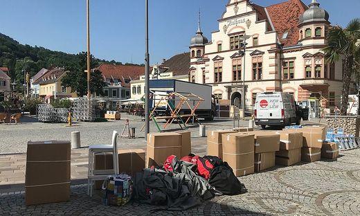 Noch viel zu tun gibt es am Hartberger Hauptplatz