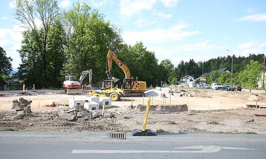 Baustelle in Lambichl