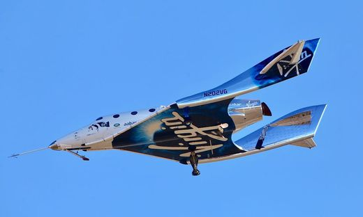 Virgin Galactic gelang erster bemannter Flug aus den USA ins All