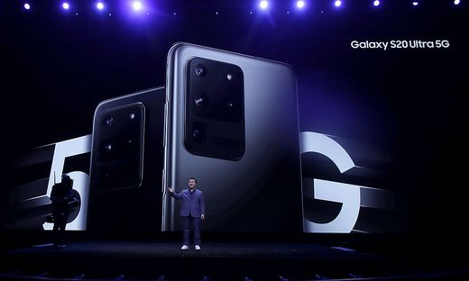 Die Galaxy S20-Reihe wird vorgestellt