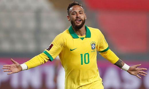 Neymar durfte gleich drei Mal jubeln