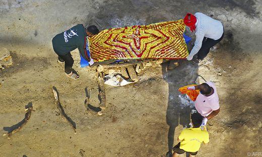 Mittlerweile mehr als 200.000 Corona-Tote in Indien