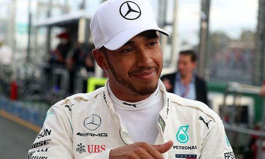 Formel 1 Hamilton Fuhr Die Erste Pole Position Kleinezeitung At