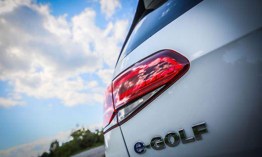 VW lässt den E-Golf in Dresden fertigen
