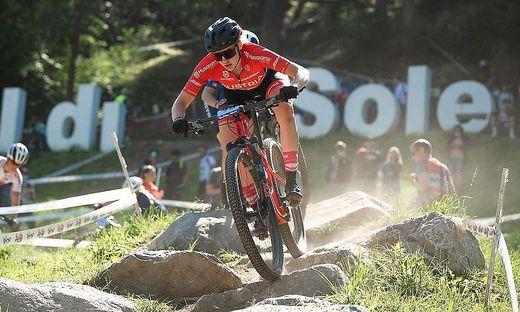 Mountainbikerin Katharina Sadnik