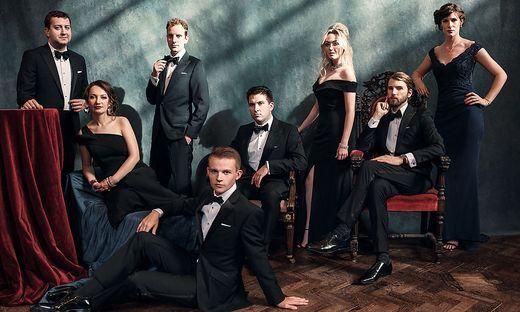 """Voces8, eines der derzeit besten A-cappella-Ensembles weltweit, ist auch beim Galakonzert """"Messiah"""" zu hören"""