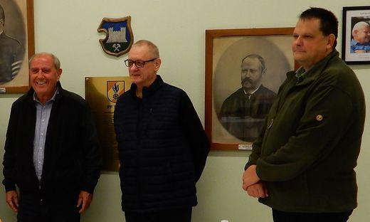 Die Initiatoren der Blutspendeaktion, Siegi Schrittwieser, Erich Lenes und Gilbert Krenn, erhoffen sich eine rege Teilnahme