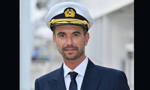 Florian Silbereisen in seiner Rolle als Kapitän Max Parger