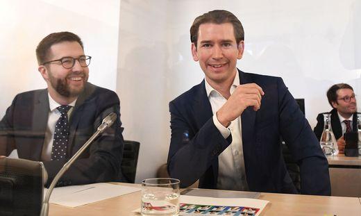 Bundeskanzler Kurz war in der Vorwoche beim Ibiza-U-Ausschuss geladen