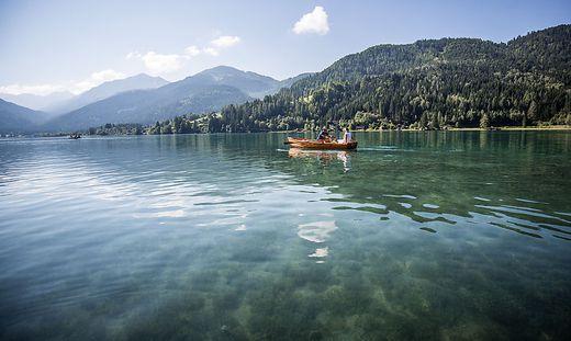 Dem Weißensee wird die höchste Sichttiefe attestiert