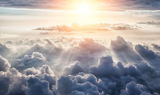 Die Sonne zeigt sich am Vormittag
