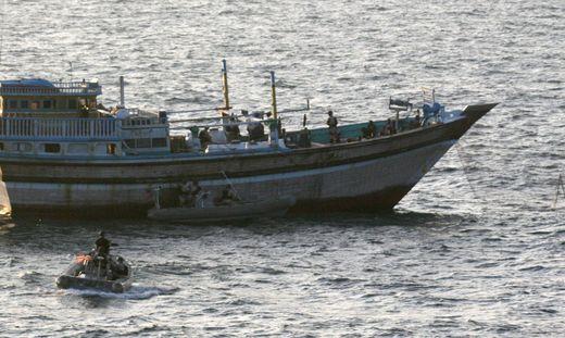 Vor den Küsten Afrikas sind immer wieder Piraten unterwegs
