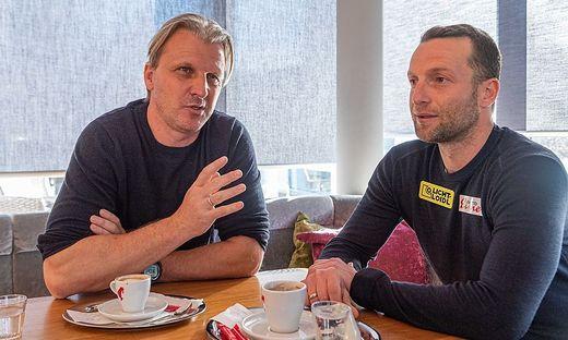 Markus Schopp und Ferdinand Feldhofer