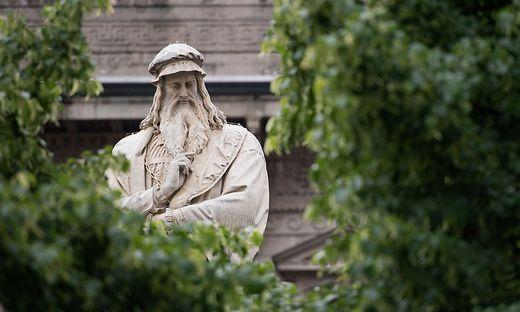 Skulptur von Leonardo da Vinci