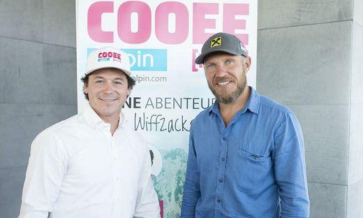 Cooee-Initiatoren Rainer Schönfelder und Hermann Maier