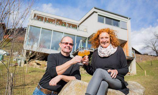 Rosemarie und Rudolf Malle bauten eines der ersten Passivhäuser in Kärnten