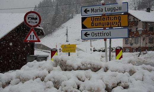 Der Lesachtaler Abschnitt der Gailtalstraße bleibt bis auf Weiteres gesperrt