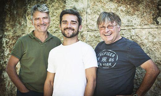 Erich, Christoph und Walter Polz