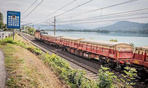 Güterzüge rattern durch die Wörthersee-Gemeinden