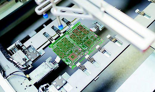 Leiterplatten-Herstellung bei AT&S